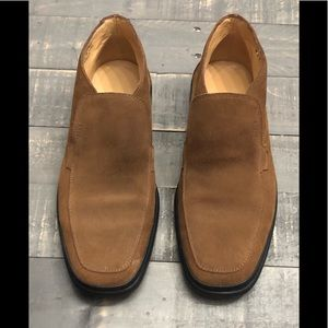 Bally Mens Brown Suede Ankle Boots UK Sz 6.5 E